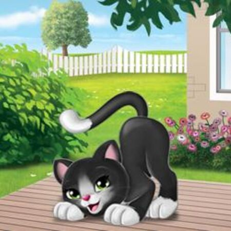 NEW LEGO BLACK CAT MINIFIG animal figure minifig minifigure 41018 41055 41119
