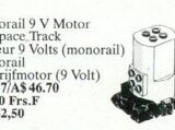 5040 Monorail 9V Motor for Space Track