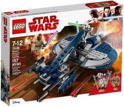 75199 General Grievous' Combat Speeder Box