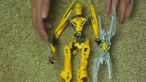 Bionicle Review Glatorian Legends Mata Nui