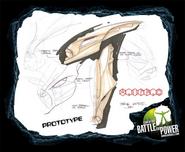Prototype Vamprah mask sketches 1