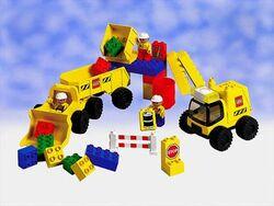 2814 Big Wheels Road Worker Set