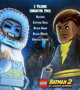 LEGO Batman 2 5 Villains Character Pack