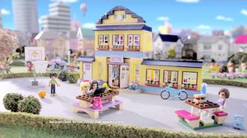 41005 l 39 cole de heartlake city wiki lego fandom - Lego friends l ecole ...
