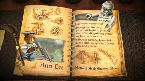 """LEGO Monster Fighters - """"Ann Lee"""""""