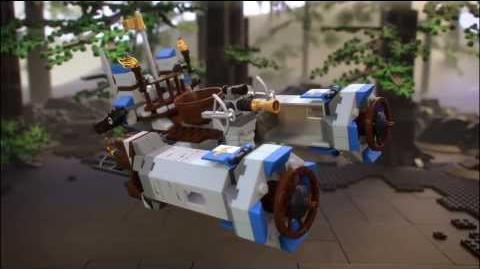 Lego Movie 70806 CASTLE CAVALRY Lego 3D Review