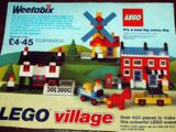 00-7 Weetabix Promotional LEGO Village