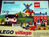 00-7 Weetabix Promotional LEGO Village
