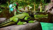 Crocodile légendaire-Le royaume oublié