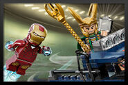 Iron Man Vs. Loki Marvel