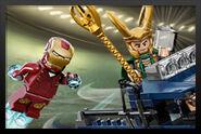 Iron Man Vs. Loki Marvel