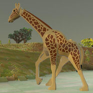 Lego worlds Giraffe