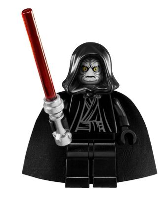 Hair piece from set 75044 for Star Wars Minifig Lego Chancellor Palpatine Head