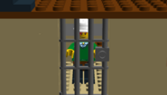 Tourist in cell