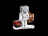 21150 Squelette avec un cube de magma 2