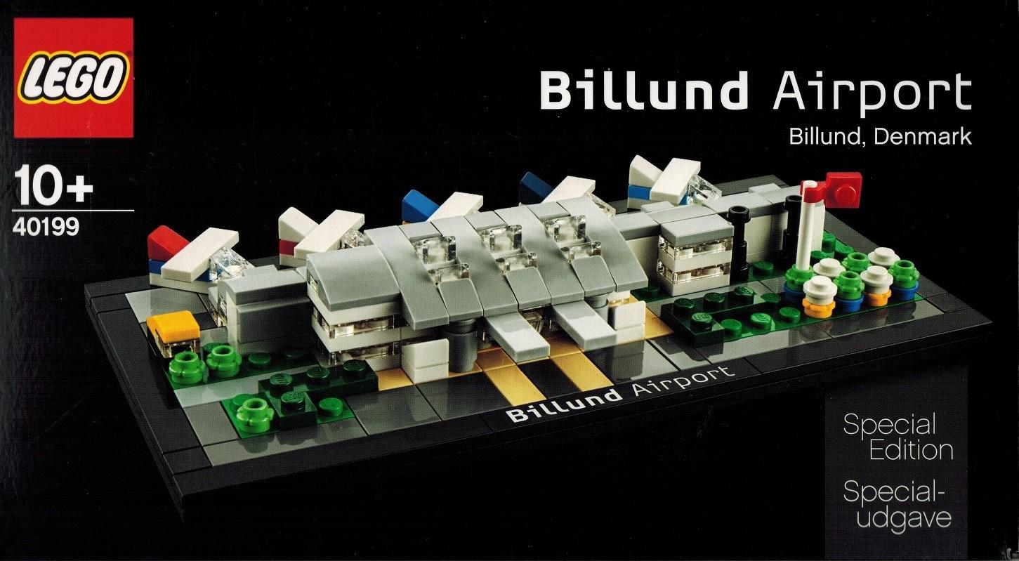 Lego 40199 Billund airport special edition