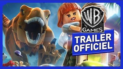 """LEGO Jurassic World - Bande Annonce Trailer Officiel """"Le Parc est ouvert"""""""
