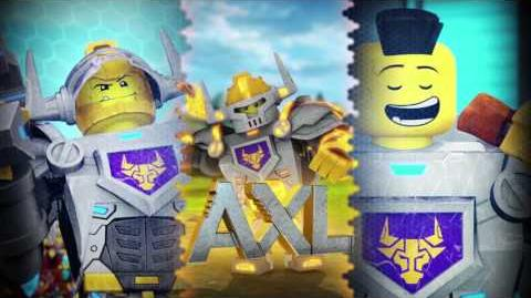 LEGO NEXO KNIGHTS - Axl - Hungry for Action