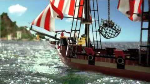 LEGO Pirates Ad 2009