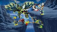 Lego Ninjago Attack of The Morro Dragon 4