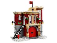 10263 La caserne des pompiers du village d'hiver 2