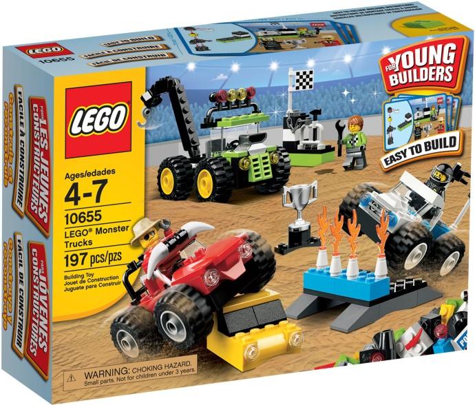 10655 Lego Monster Trucks Brickipedia Fandom Powered By Wikia