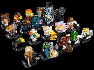 71019 Minifigures Série LEGO Ninjago, Le Film 2