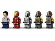 76167 L'armurerie d'Iron Man 2
