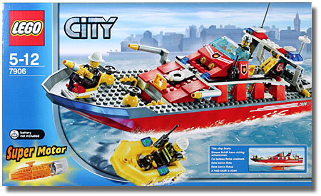 7906 Fireboat Brickipedia Fandom Powered By Wikia