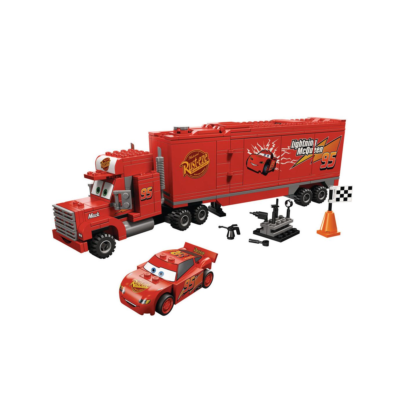 8486 Mack\'s Team Truck   Brickipedia   FANDOM powered by Wikia