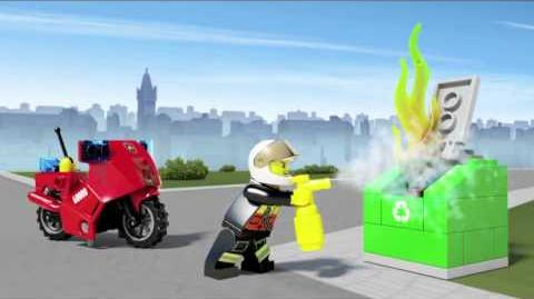 LEGO City - Fire Motorcycle 60000