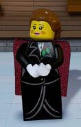 Lego Worlds Female Caroler