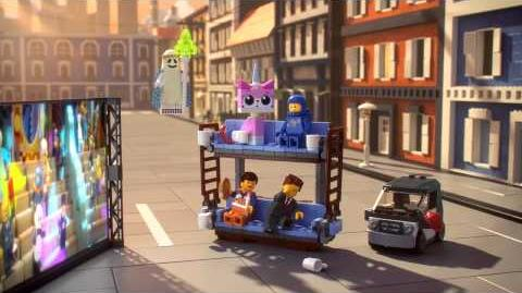 The LEGO Movie - NEW Double-Decker Couch