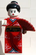 8804 Kimono-Mädchen