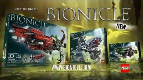 BIONICLE Vehicles