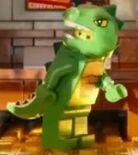 Emmet lizard man