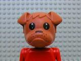 Fabuland Figure Bulldog 6
