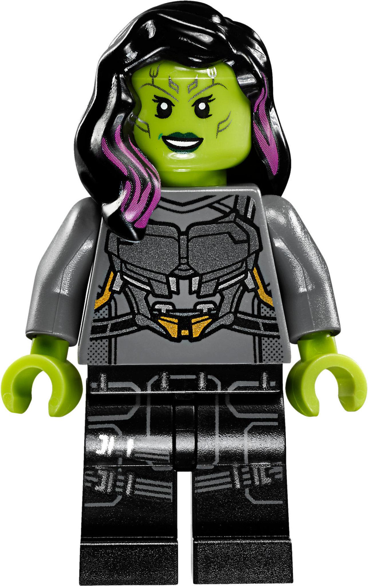 LEGO Super Heroes Drax Figur Minifig Rocket Groot Milano Guardians 76021