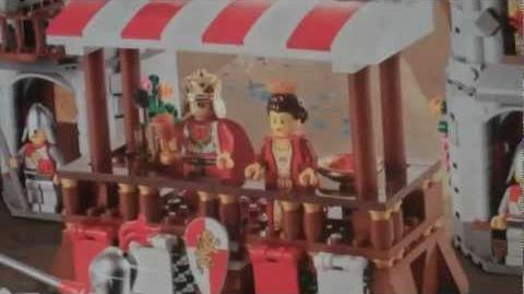 LEGO 10223 review Kingdoms Joust (300th Video Special!)