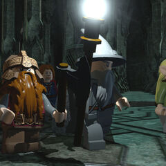The Fellowship in Moria