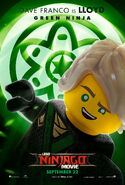 The LEGO Ninjago Movie Poster Lloyd 2