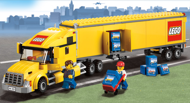 3221 le camion lego city wiki lego fandom powered by wikia - Lego city police camion ...