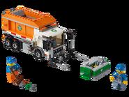 60118 Le camion poubelle