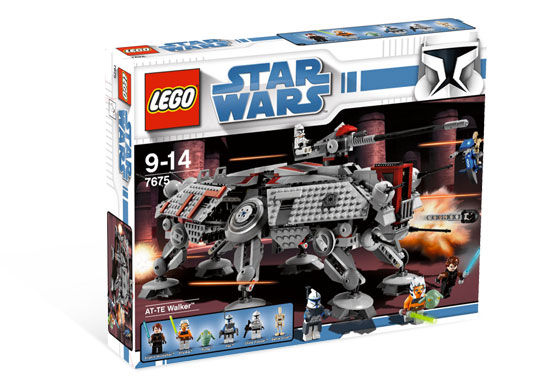 Review:7675 AT-TE Walker | Brickipedia | FANDOM powered by Wikia