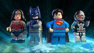 Intro Ligue des justiciers-S'évader de Gotham City