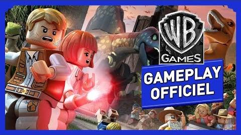 "LEGO Jurassic World - Bande Annonce Gameplay Officiel ""LES DINOS"""