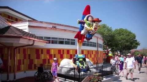 Remodeled Lego Store at Downtown Disney - Walt Disney World