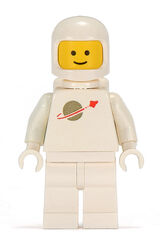White Classic Spaceman