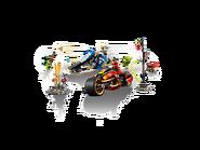 70667 La moto de Kai et le scooter des neiges de Zane 2