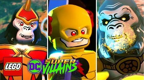 LEGO DC Super Villains Gameplay Walkthrough Demo - Gorilla City Boss Battle (Full Level)